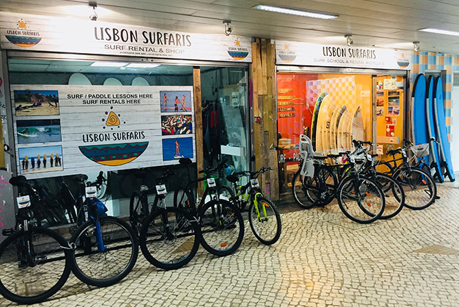 lisbon surfaris store and meeting point